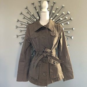 H&M trench coat size 8